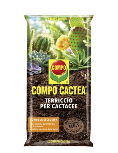 Compo Cactea-Terriccio per cactacee 5l Products for the Care