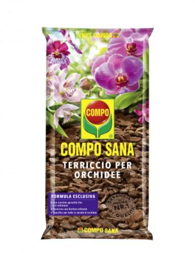 Compo Sana-Terriccio per Orchidee 5l Products for the Care and