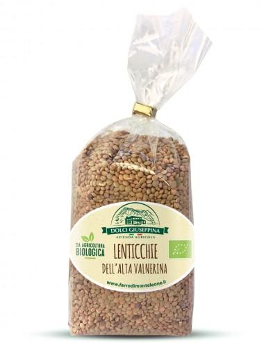Laneticchie Bio 500gr Legumes and Cereals Shop Online