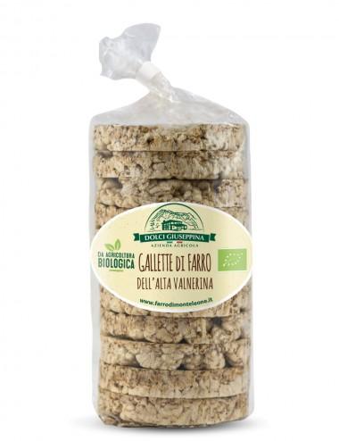 Gallette di Farro Bio 100gr Legumes and Cereals Shop Online