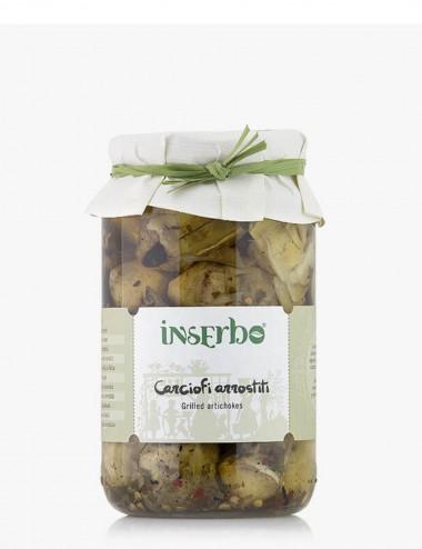 Carciofi Arrostiti Interi 560gr Preserves and Jams Shop Online