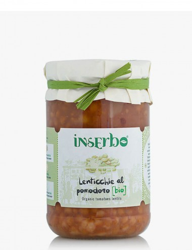 Lenticchie al Pomodoro Bio 300gr Legumes and Cereals Shop Online