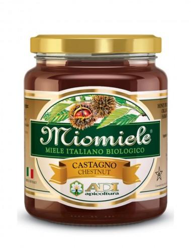 MioMiele Castagno Biologico 500gr Honey and Creams Shop Online
