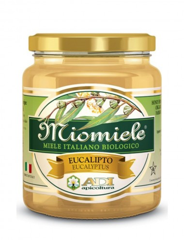 MioMiele Eucaliptus Biologico 500gr Honey and Creams Shop Online