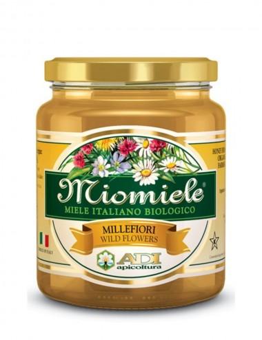 Miomiele Millefiori Biologico 500gr Honey and Creams Shop Online