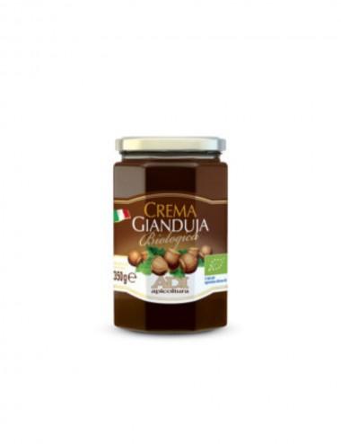Crema Gianduja Biologica 350gr Honey and Creams Shop Online