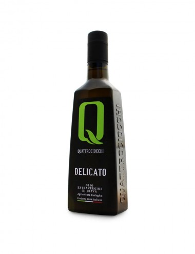"Olio Extra Vergine di Oliva ""Delicato"" Lt. 0,500 Olive oil Shop"