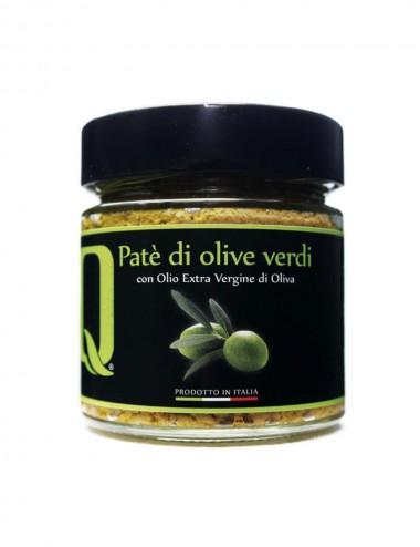 Paté di Olive Verdi con Olio Evo 190 gr Preserves and Jams Shop