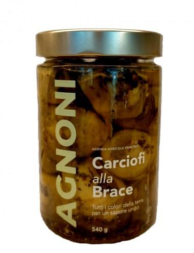 Carciofi alla Brace 540gr Preserves and Jams Shop Online