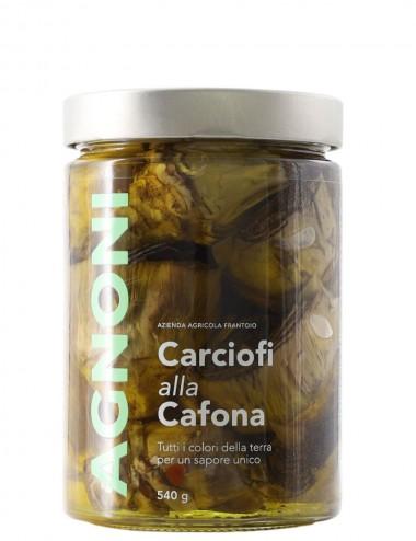 Carciofi alla Cafona 540gr Preserves and Jams Shop Online