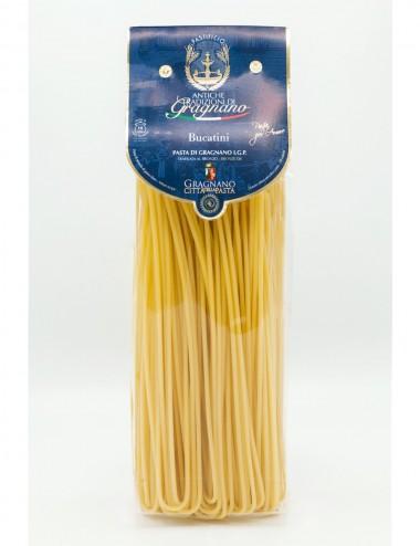 Pasta di Gragnano IGP Bucatini 500gr Legumes and Cereals Shop