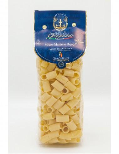 Pasta di Gragnano IGP Mezze Maniche 500gr Legumes and Cereals