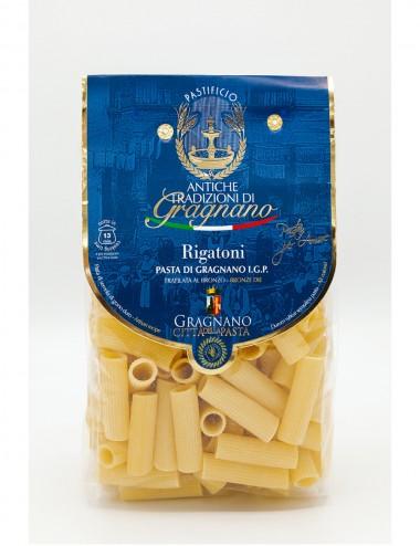 Pasta di Gragnano IGP Rigatoni 500gr Legumes and Cereals Shop