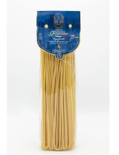 Pasta di Gragnano IGP Spaghetti 500gr Legumes and Cereals Shop