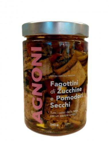 Fagottini di Zucchine e Pomodori Secchi 540gr Preserves and